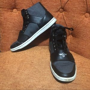 Creative Recreation leather/canvas high tops 9